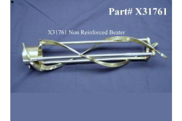 "X31761 Beater, original style non-reinforced, For use with 17"" Scraper-blades"